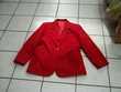 veste rouge 46