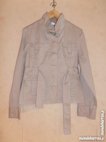 Veste saharienne beige (70) Vêtements
