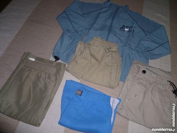 Lot 1 veste & 4 shorts garçon 4 ans TBE 13 Issou (78)