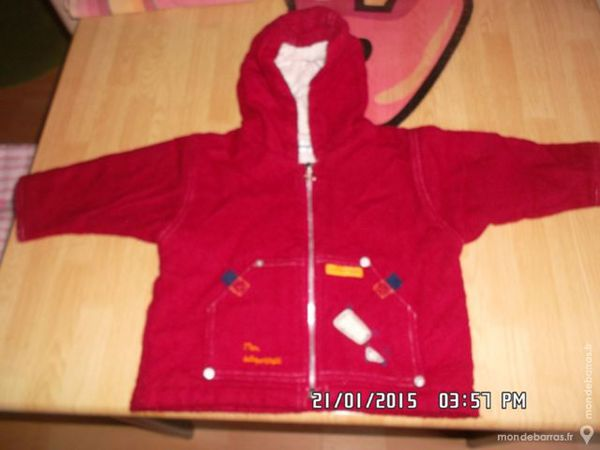 veste sucre d'orge t.6 m 2 Chambly (60)