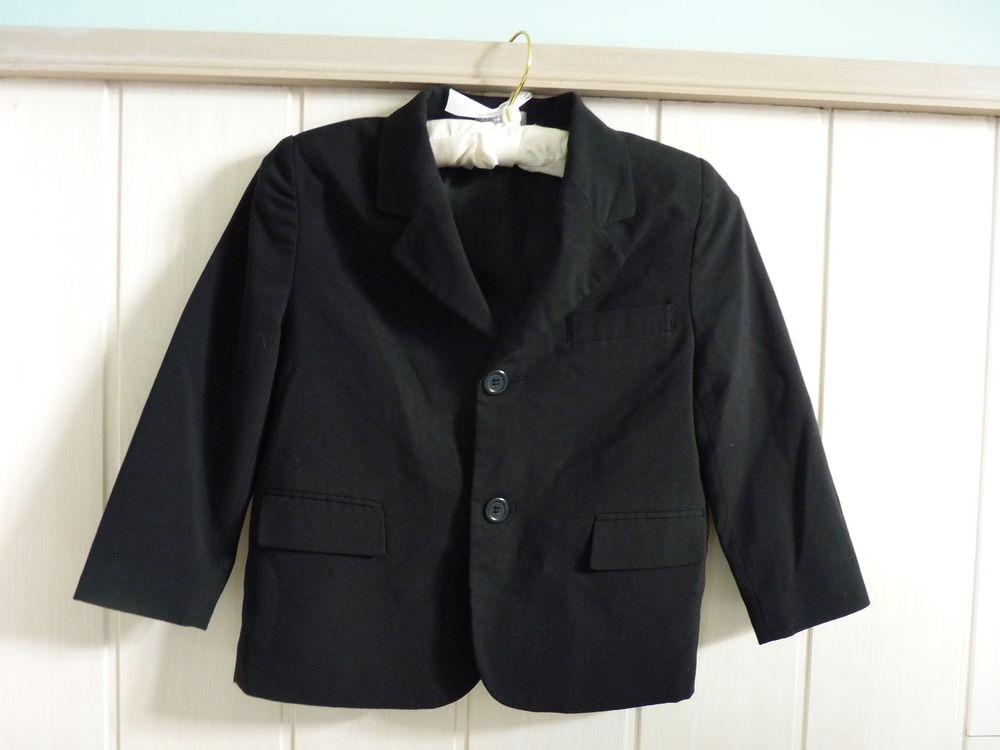 veste tailleur garçon noir gémo 4 ans tbe  5 Brienne-le-Château (10)