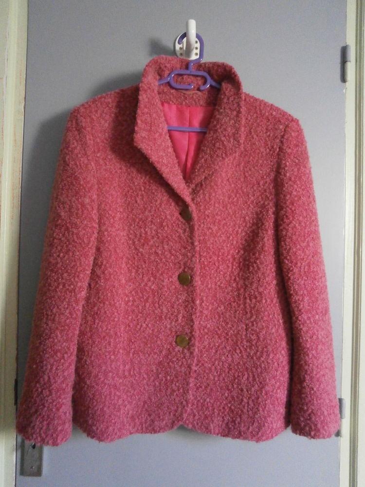 Veste vieux rose mouchetée à blouclettes 30 Tourcoing (59)