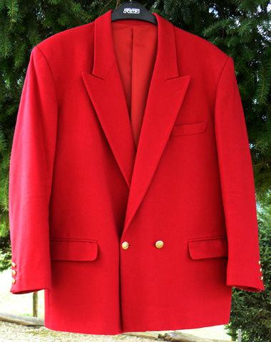 Veste de ville rouge ARTHUR SCOTT Taille 46 impeccable 59 Saint-Clair-sur-Galaure (38)