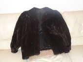 veste en vison noir 200 Saint-Laurent-du-Var (06)