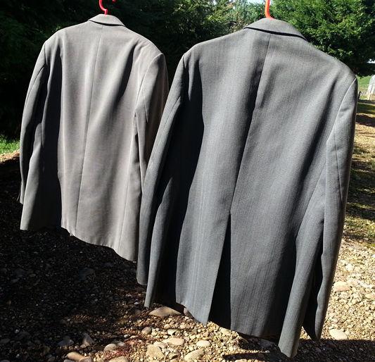 2 vestes grises en bon état T 46 59 Roybon (38)