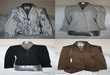 Vestes de tailleur 1 grise, 1 noir, 1 marron et 1 blanche