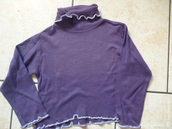 Vêtement fille Sous- pull Violet Taille 3/4 ans 4 Argenton-sur-Creuse (36)