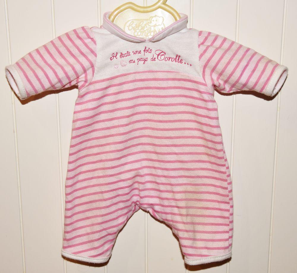 Vêtement pour poupée Corolle 36 cm. Pyjama rose et blanc.  6 Gujan-Mestras (33)