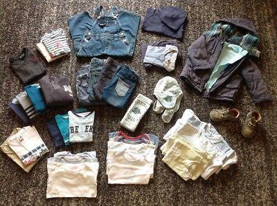 Lot Vêtements avec Manteau doublé - Garçon 23/24 Mois / Lot3 Vêtements enfants