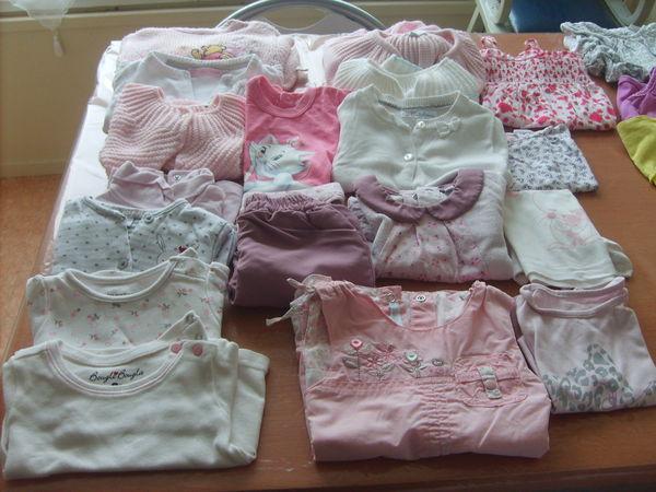 vêtements bébé fille 3 mois 1 Châteauroux (36)