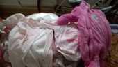 LOT de 97 vétements peu mis bébé fille 1 mois HIVER  97 Montélimar (26)