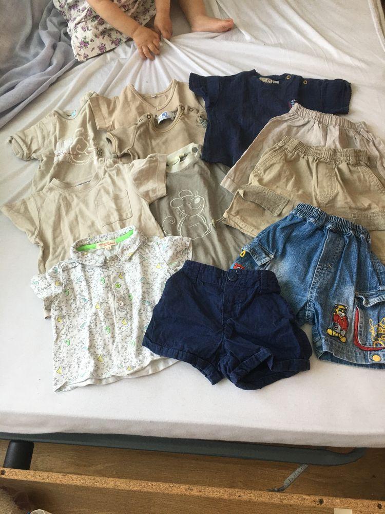 lot vêtements bébé été 6-12 mois 10 Cergy (95)