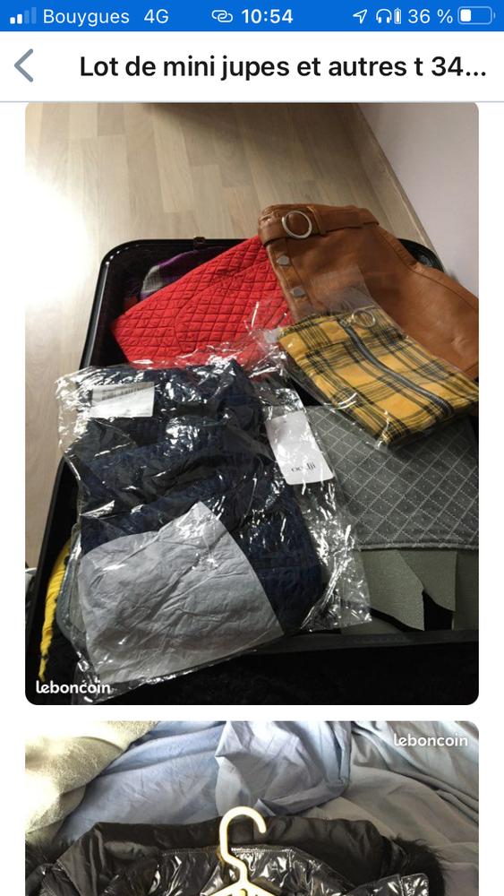 Lot de vêtements femme t 34/36 100 Gabarret (40)