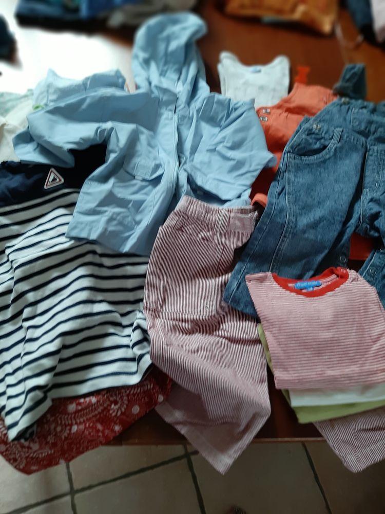 Lot vêtements fille été automne 18 mois 15 Crécy-la-Chapelle (77)