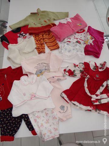 Lot Vêtements Fille 6 mois Vêtements enfants