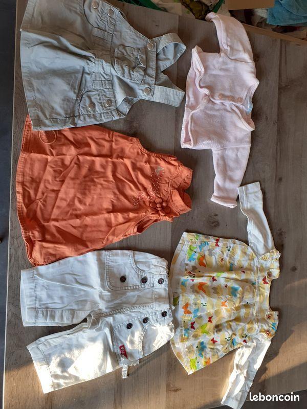Vetements fille 1 a 18 mois 2 Sourcieux-les-Mines (69)