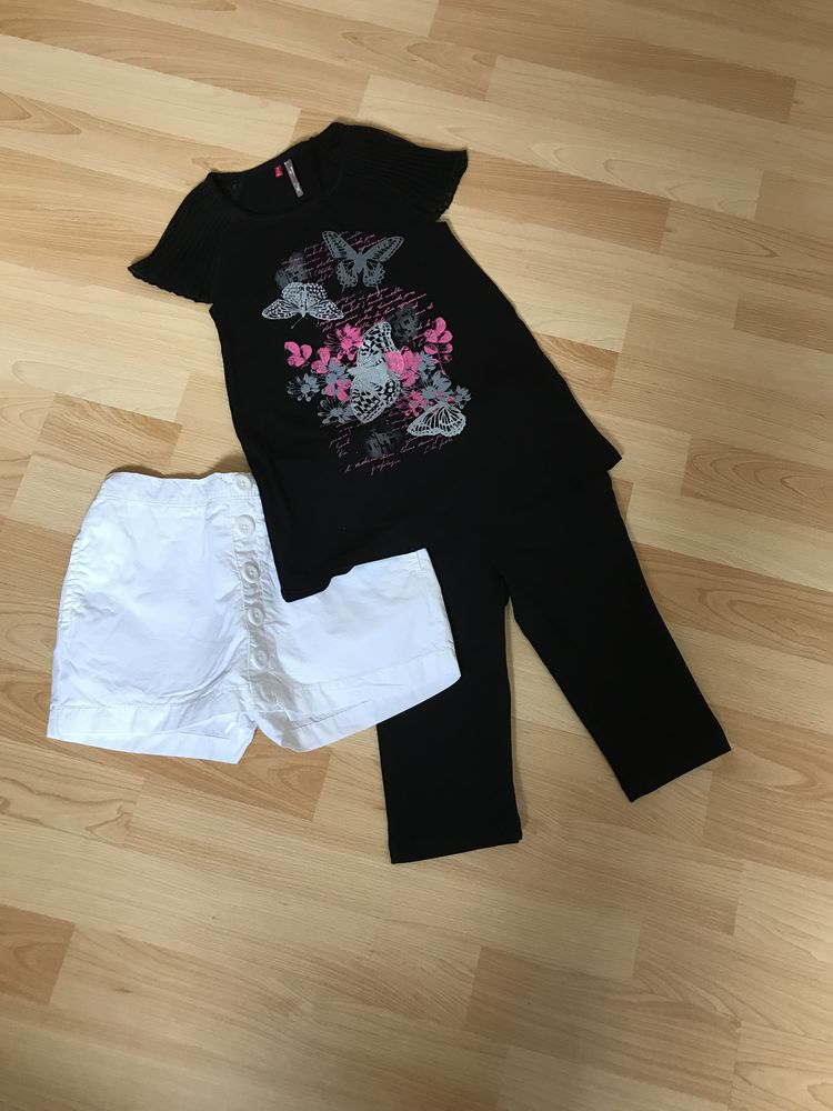 Lot vêtements fille - 5 ans - Parfait état 2 Ligné (44)