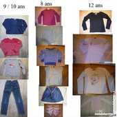 Vêtements fille 8, 10 et 12 ans 2 Sartrouville (78)