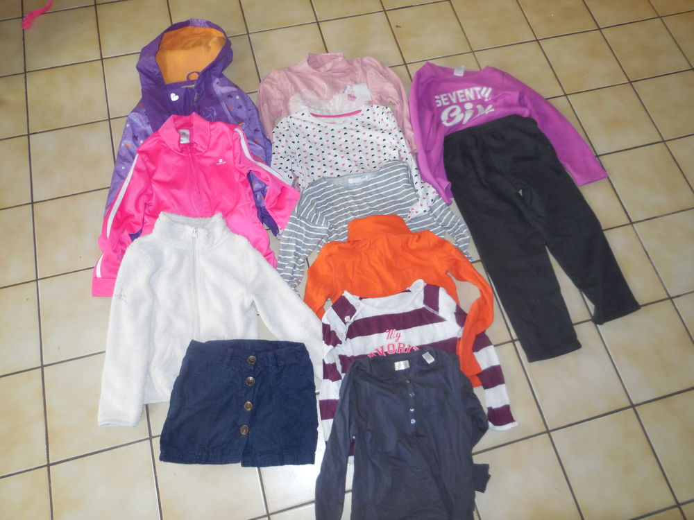 Lot de vêtements fille 5 ans 14 Halluin (59)