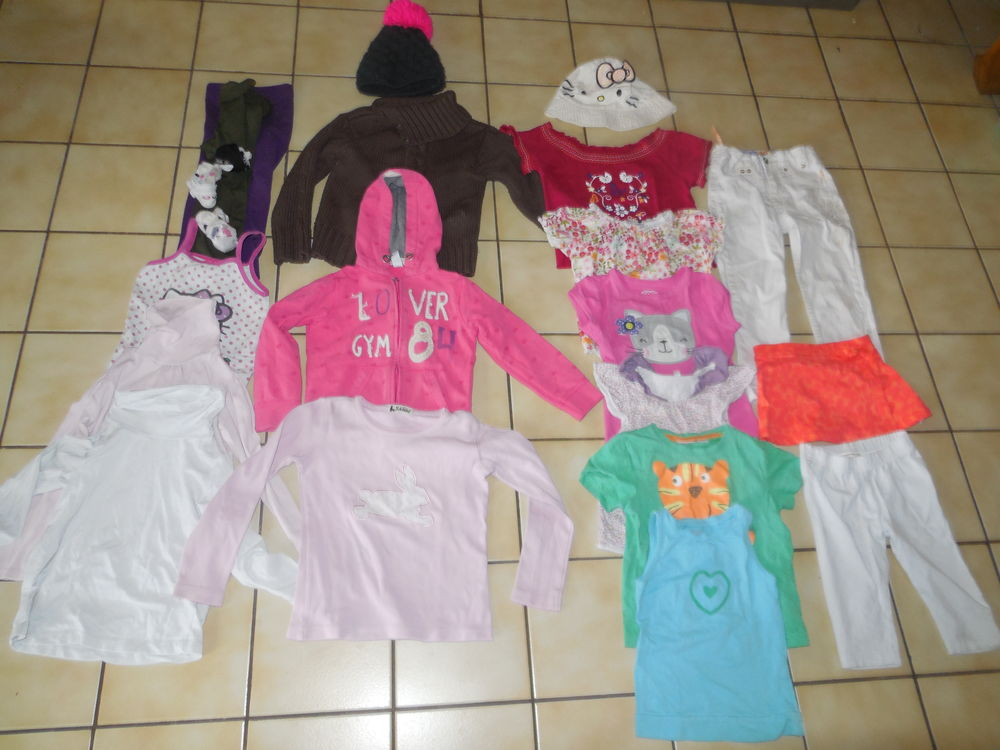 Lot de vêtements fille 3 ans 15 Halluin (59)