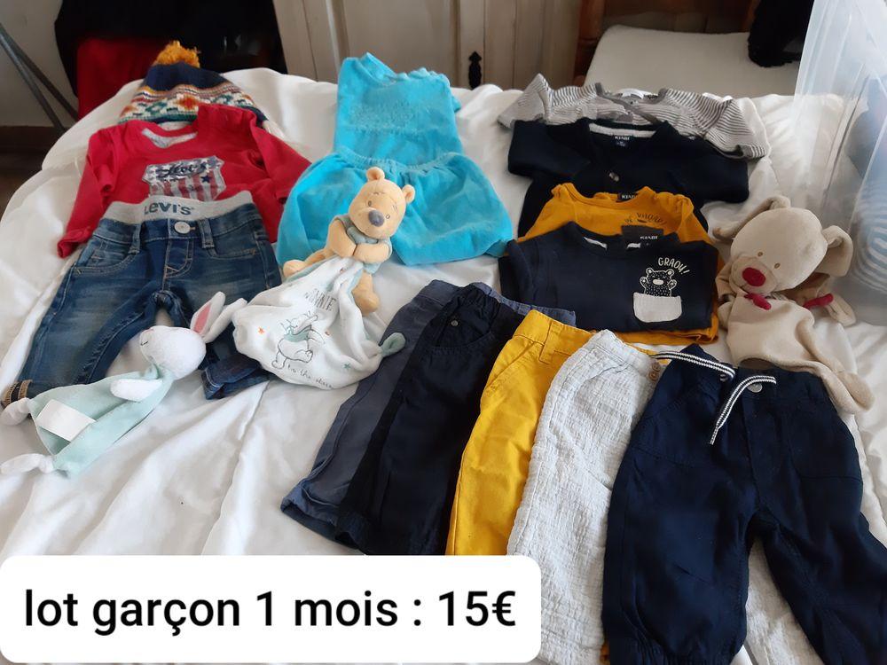 Vêtements Garçon bébé. De 1 mois à  24 mois. 10 Arras (62)