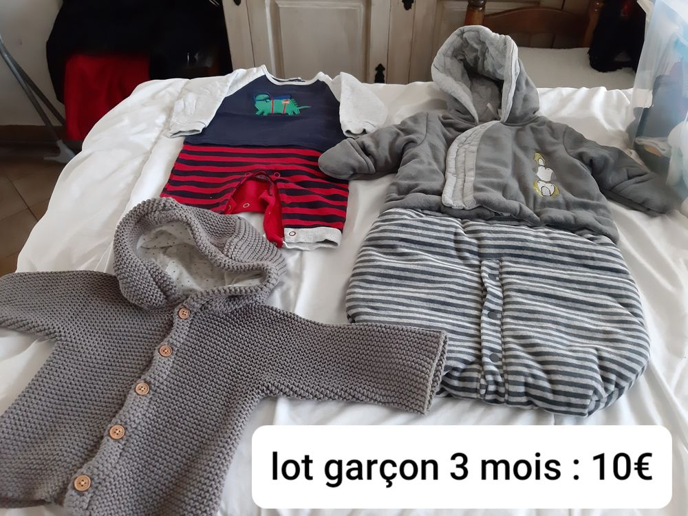 Vêtements garçon bébé 3 mois. 10 Arras (62)