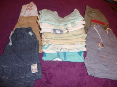 lot vêtements garçon 6 mois 49 pièces 45 Servon (77)