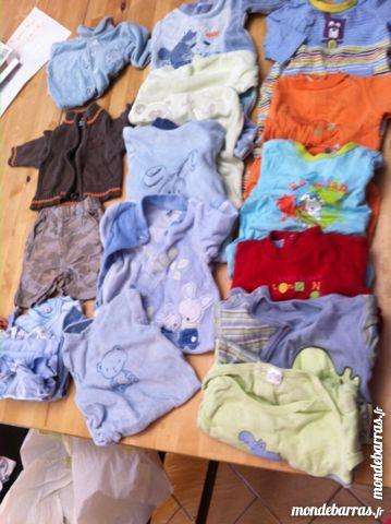 13e1ef6265a53 Lot v ecirc tements gar ccedil on 1 mois Vêtements enfants