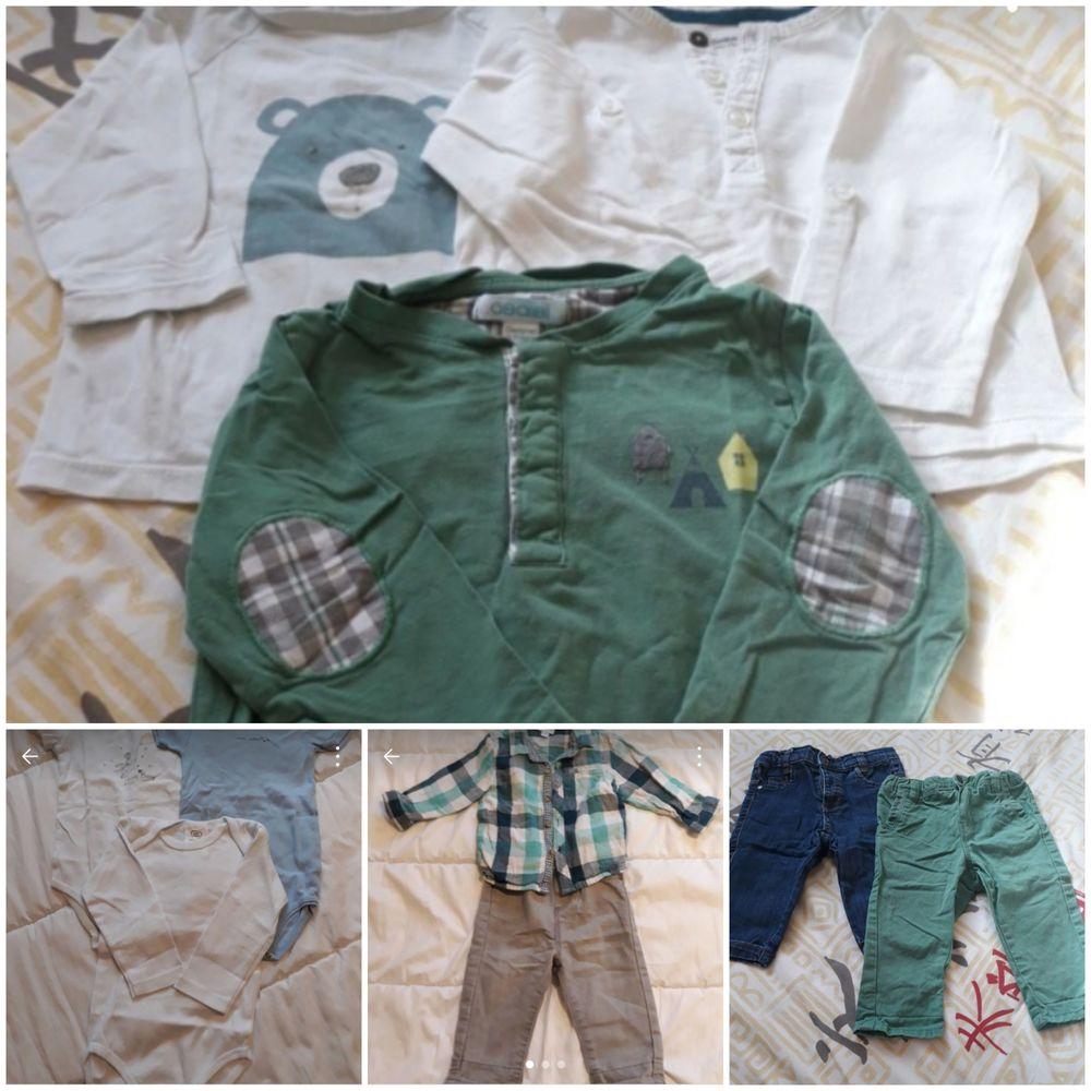 Lot de vêtements garçon 9 mois  10 Floirac (33)