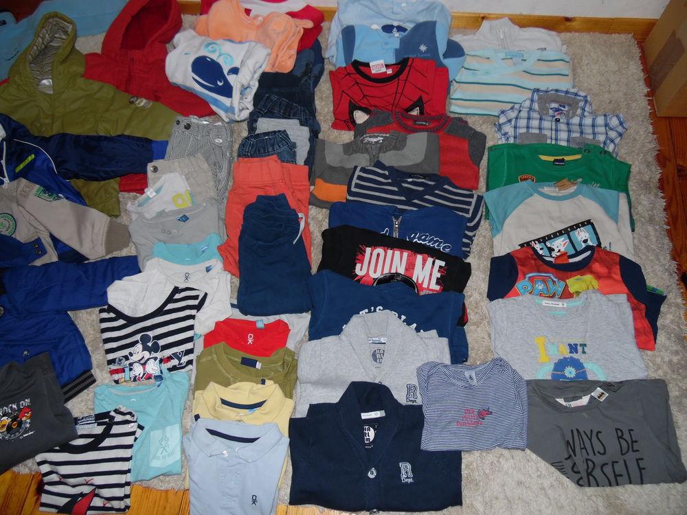 Lot Vêtements garçon 3 ans - Lot de 50 pièces 150 EUR 150 Auffargis (78)