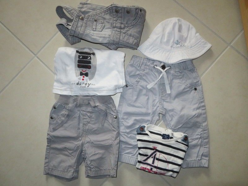 Lot de vêtements légers garçon 6 mois 8 Pluméliau (56)