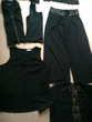 lot de vêtements noirs taille 1 à 44 - zoe Vêtements