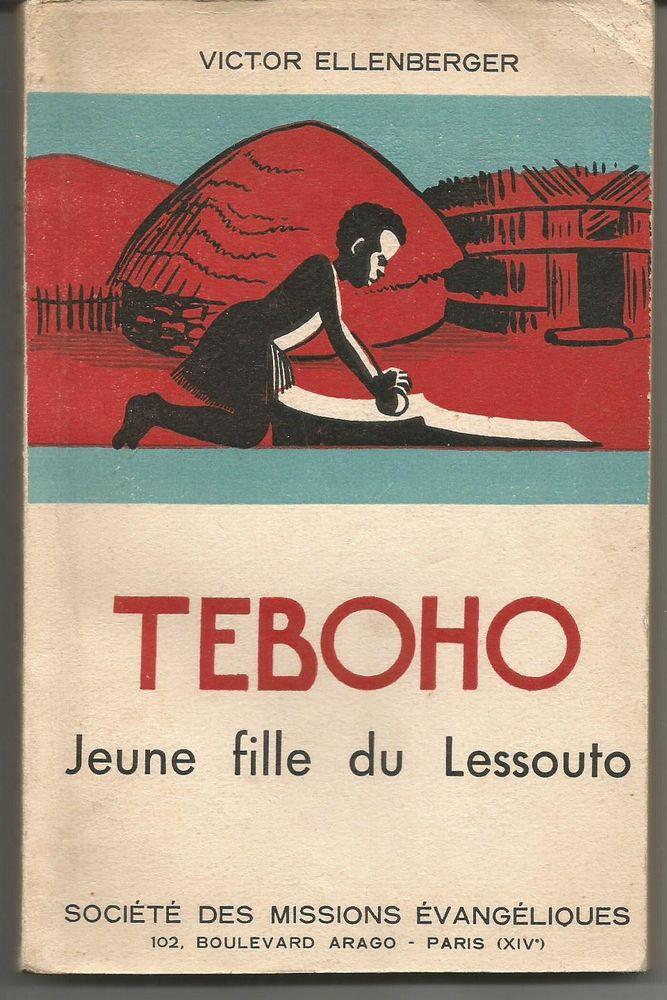 Victor ELLENBERGER / TEBOHO Jeune fille du Lessouto 8 Montauban (82)