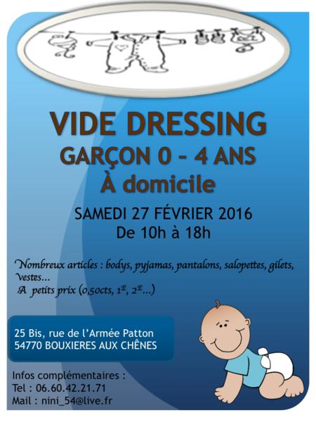 VIDE DRESSING GARÇON 0 - 4 ANS 0 Bouxières-aux-Chênes (54)