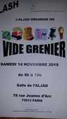 VIDE GRENIER 0 Paris 13 (75)