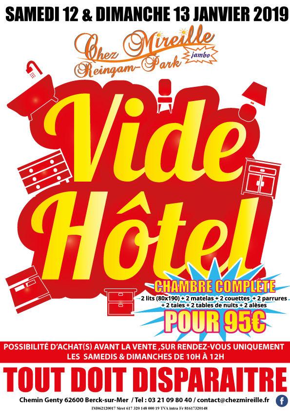 Vide Hôtel  0 Berck (62)