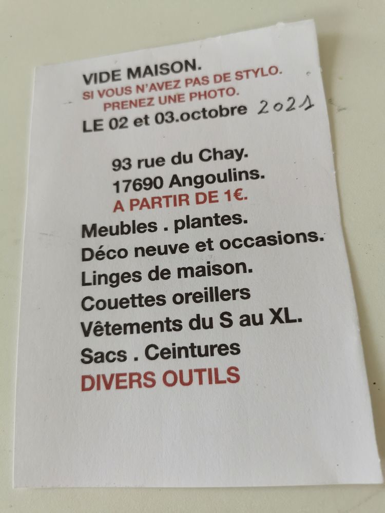 Vide maison 1 Angoulins (17)