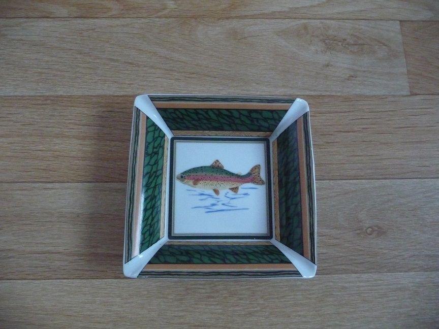 Vide poche porcelaine motif poisson - N E U F 8 Montigny-le-Bretonneux (78)