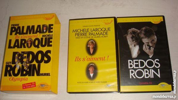 K7 vidéo VHS BEDOS,PALMADE,etc 10 Saint-Médard-en-Jalles (33)