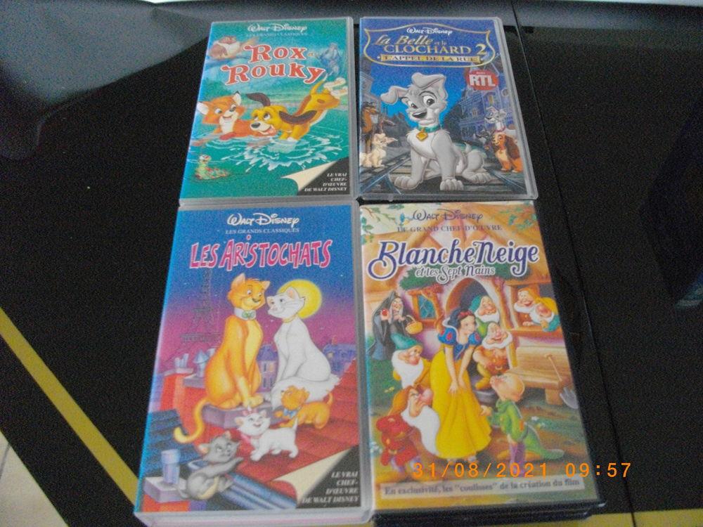 13 K7 VIDEO VHS DE DESSINS ANIMES - (5 EUROS LA K7 AU CHOIX) 5 Perros-Guirec (22)