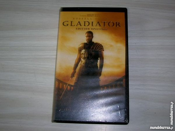 K7 VIDEO VHS GLADIATOR 2 Nantes (44)