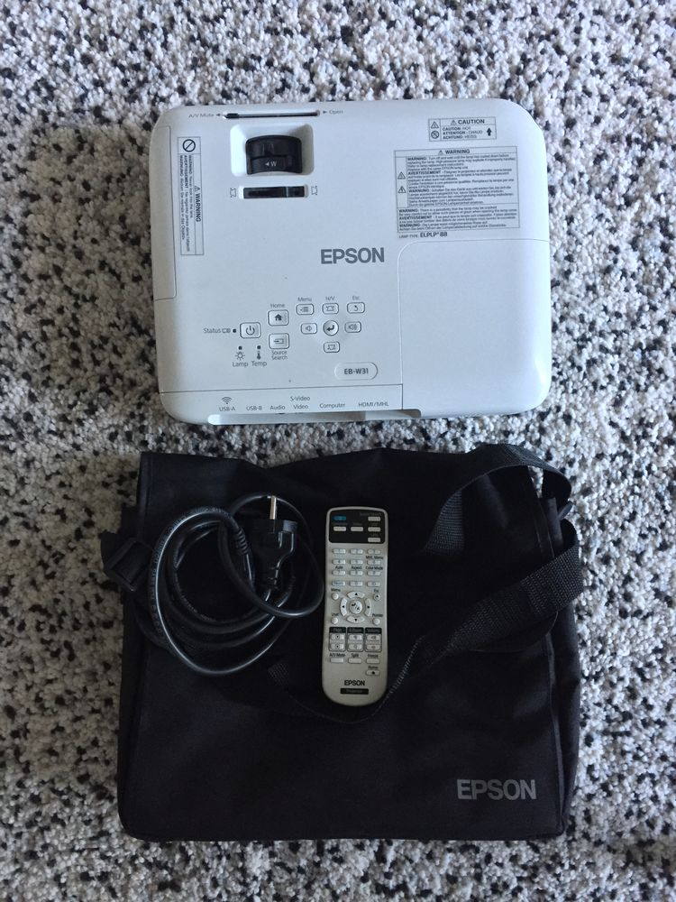 Video projecteur Epson EB W31 HD Photos/Video/TV