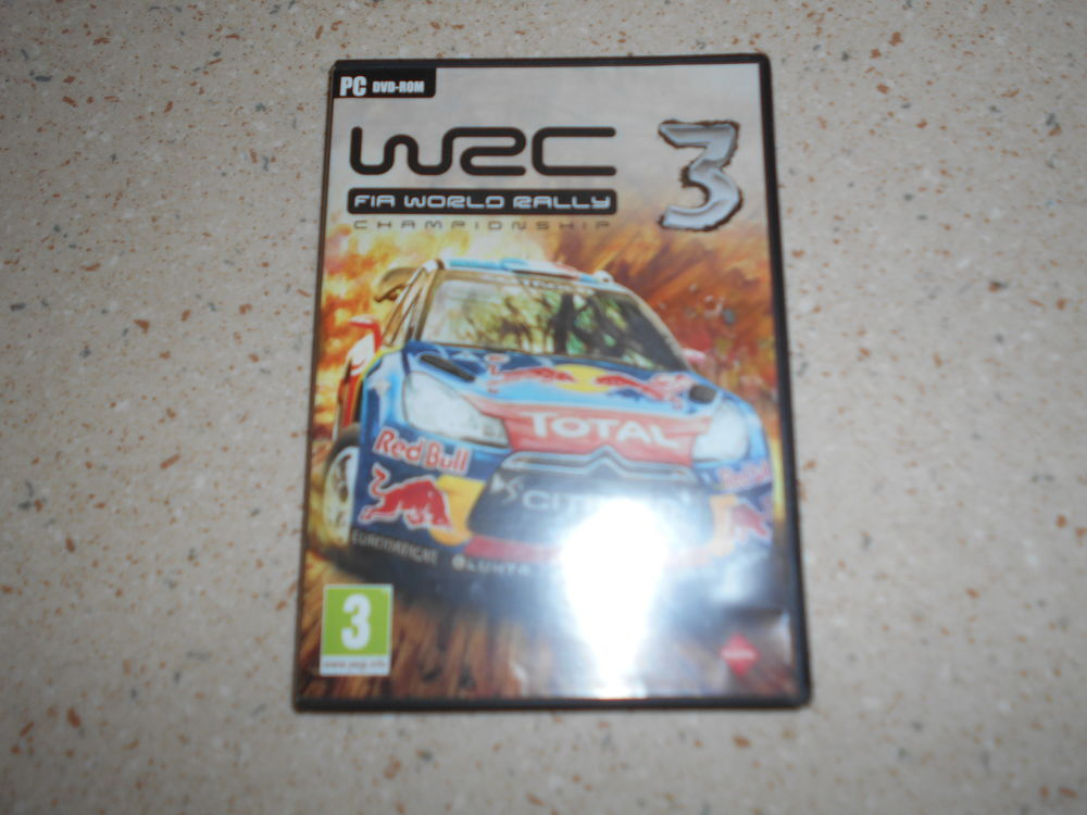 Jeu vidéo en DVD ROM WRC 3  6 Échenoz-la-Méline (70)