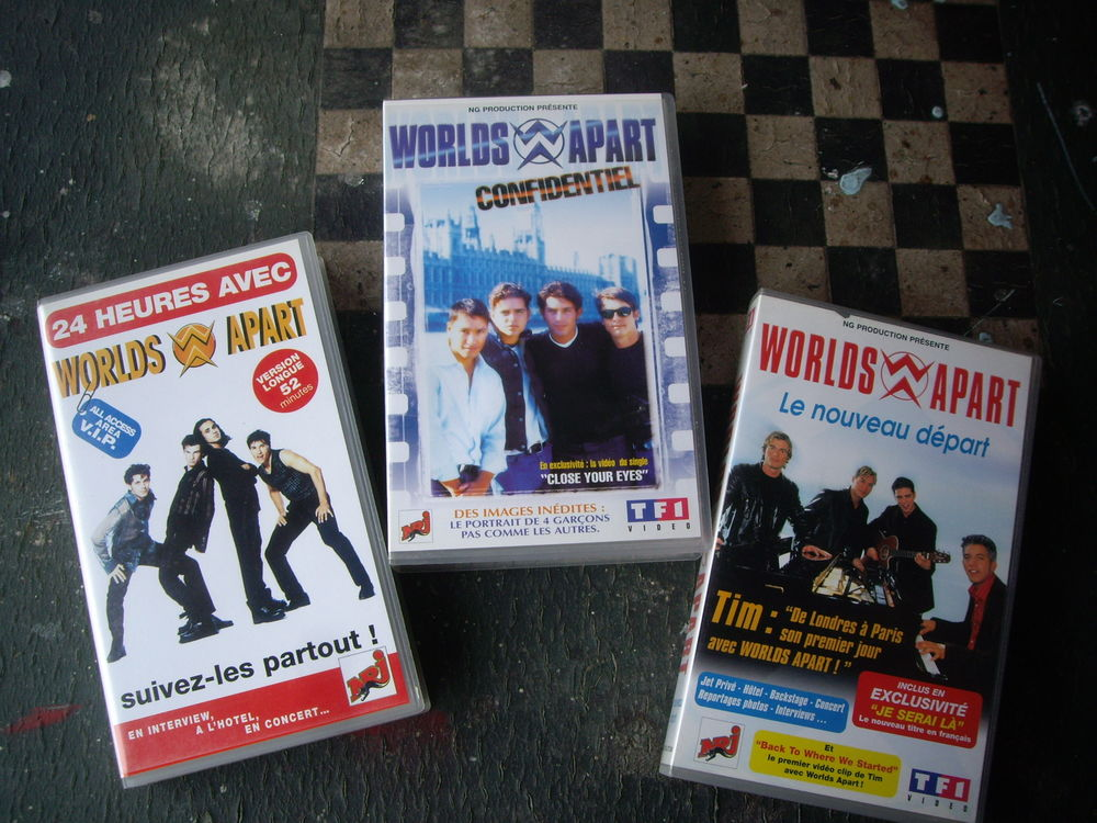 K7 Vidéos et CD des Worlds Apart 2 Bouxwiller (67)