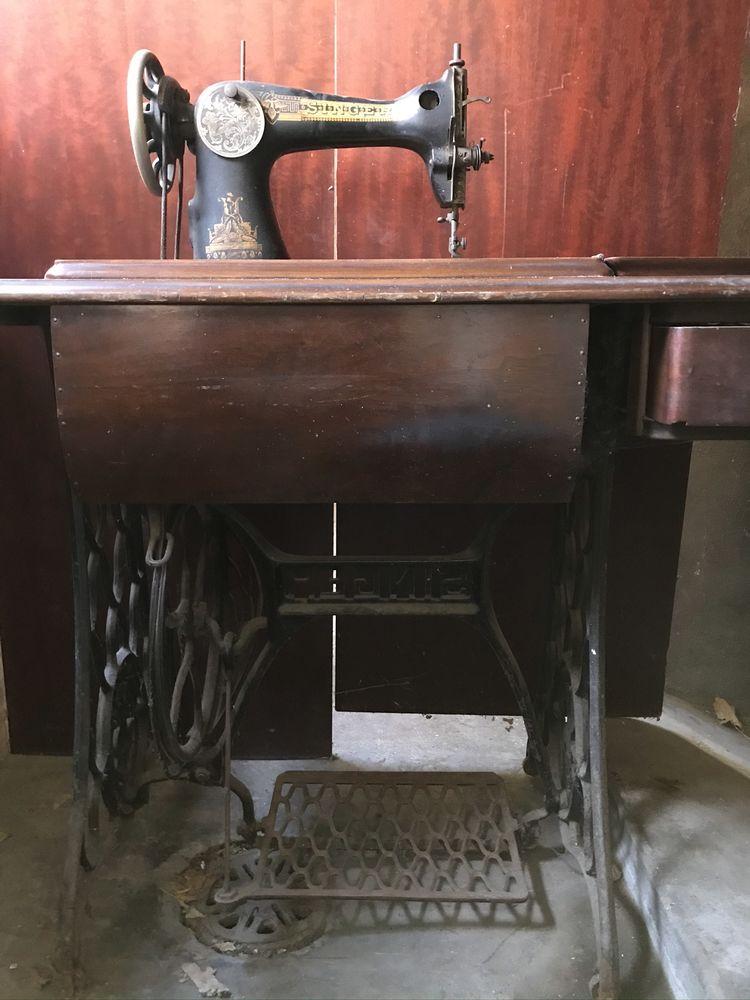 vieille machine à coudre Singer 45 L'Haÿ-les-Roses (94)