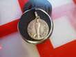 Vieille  médaille en argent gravée poinçon  Boquen N° 576