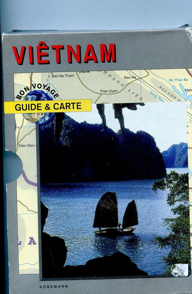 VIETNAM - Guide et cartes - Kônemann 15 Rennes (35)