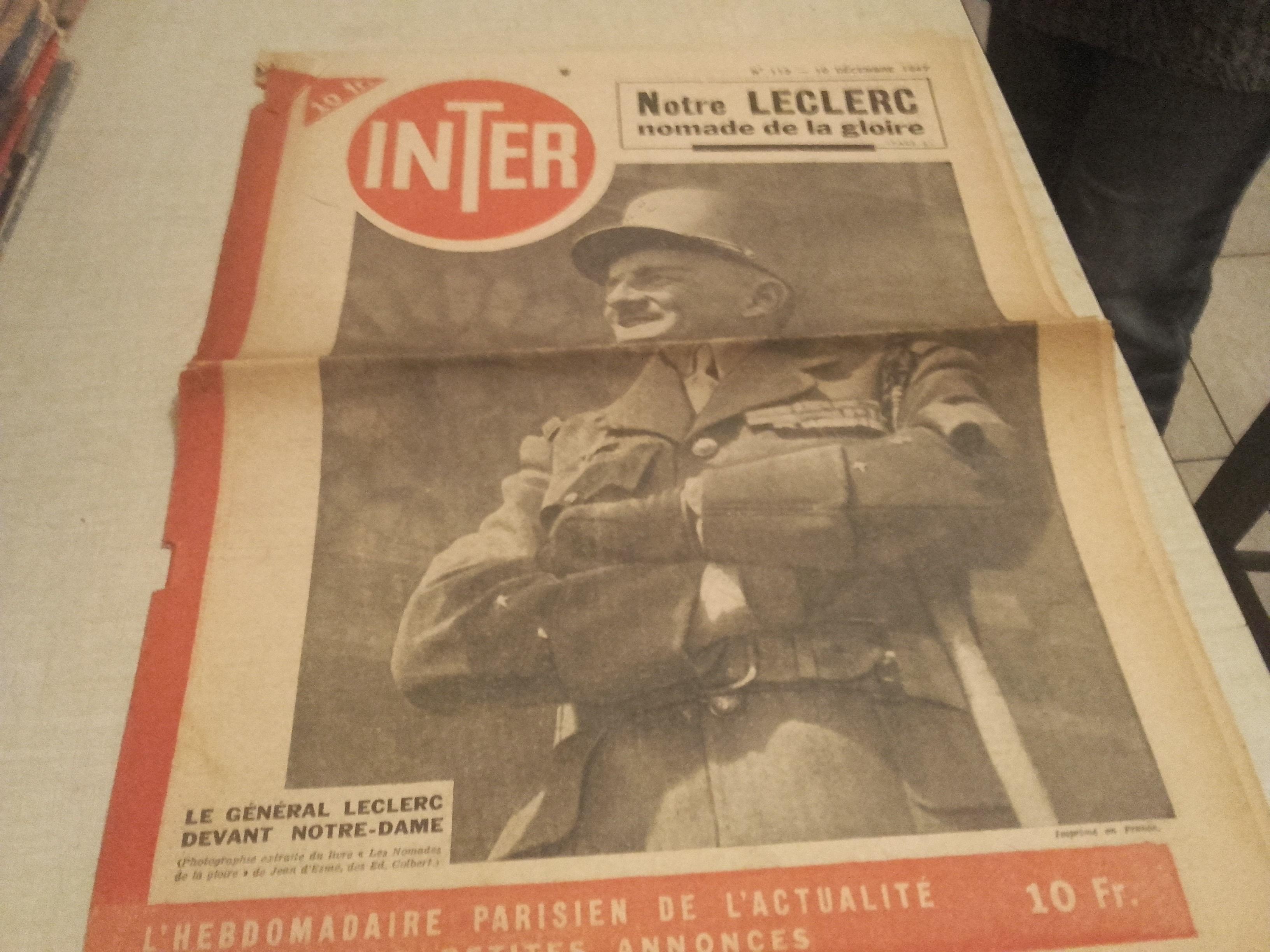 vieux journaux 1947 13 Alès (30)