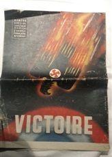 vieux journaux de la guerre 45 8 Alès (30)