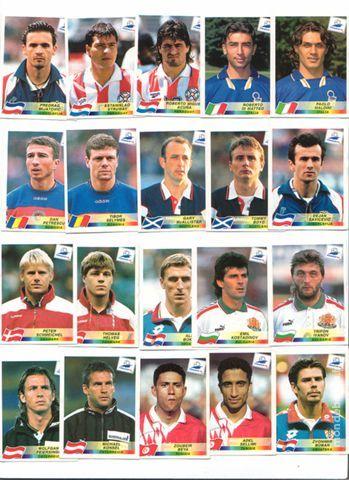 20 Vignettes PANINI Coupe du monde 98 5 Bayon (54)